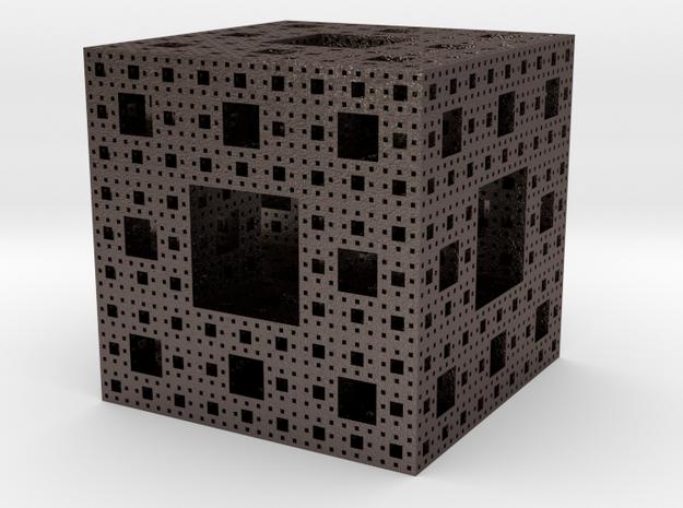 Menger Sponge  in Stainless Steel