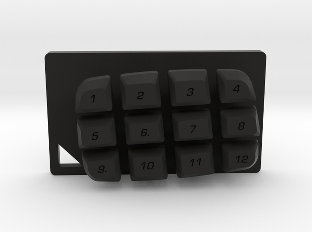 Nyth Standard Buttons in Black Natural Versatile Plastic