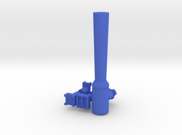 Set of leatherstamps basketweave pattern + tool in Blue Processed Versatile Plastic