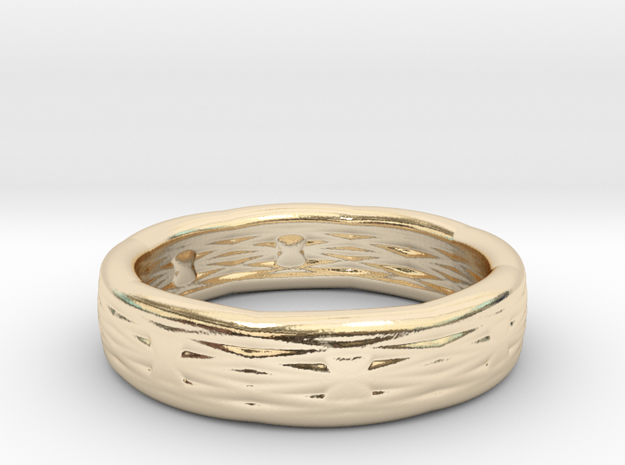 RopeRing Beta medium in 14K Yellow Gold