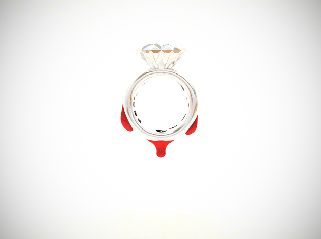 Blood Diamond Ring D16