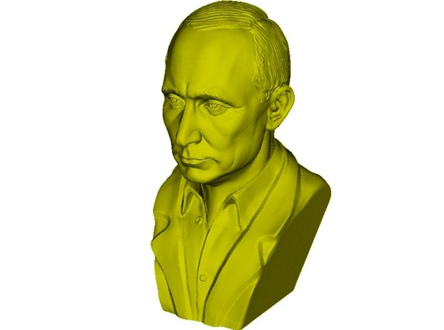 1/9 scale Vladimir Putin president of Russia bust