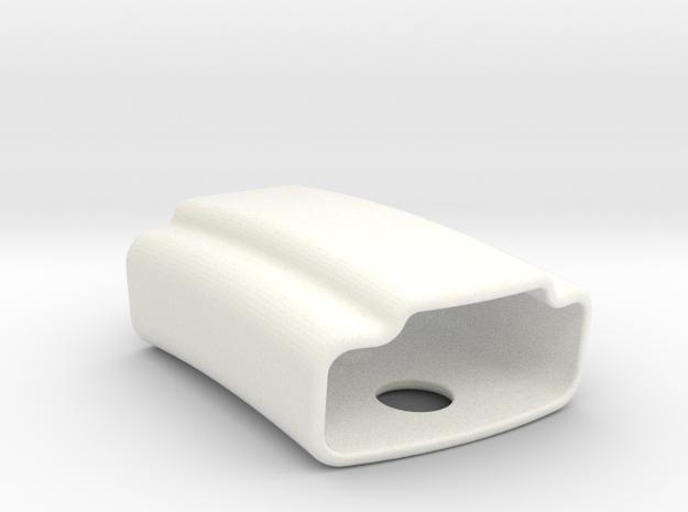 Vivosmart Clip in White Processed Versatile Plastic