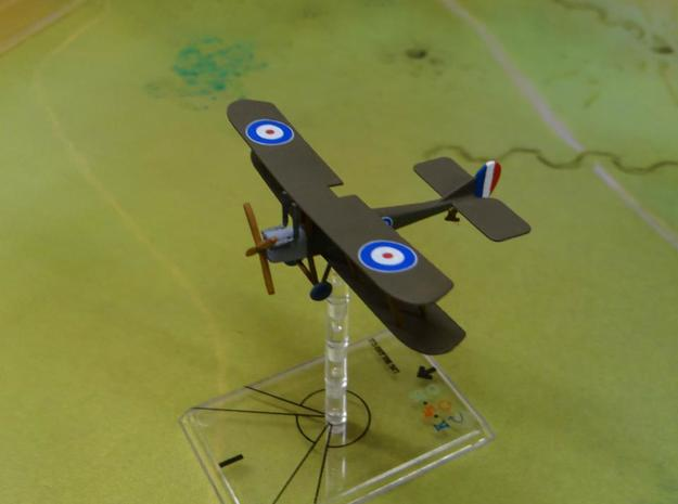 RAF B.E.2c 1:144th Scale in White Natural Versatile Plastic