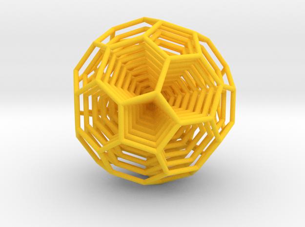 0377 8-Grid Truncated Icosahedron #All (5.0 cm)