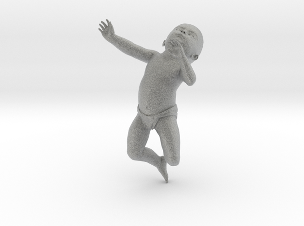 3D Crawling Baby 3d printed