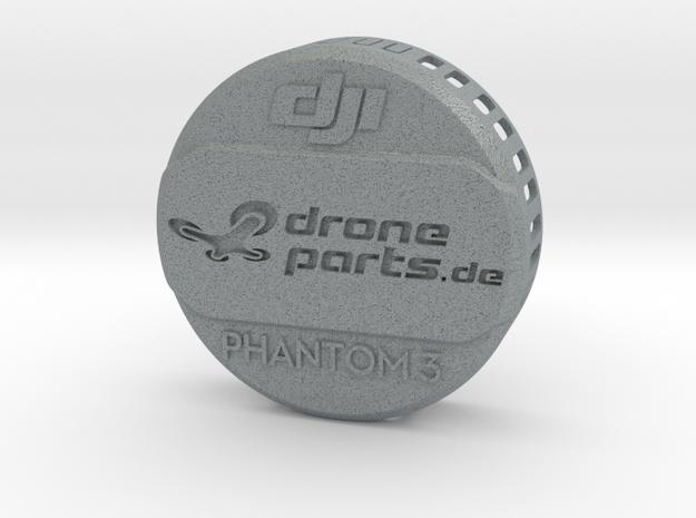 Phantom 3 Linsen Abdeckung / Schutz in Polished Metallic Plastic