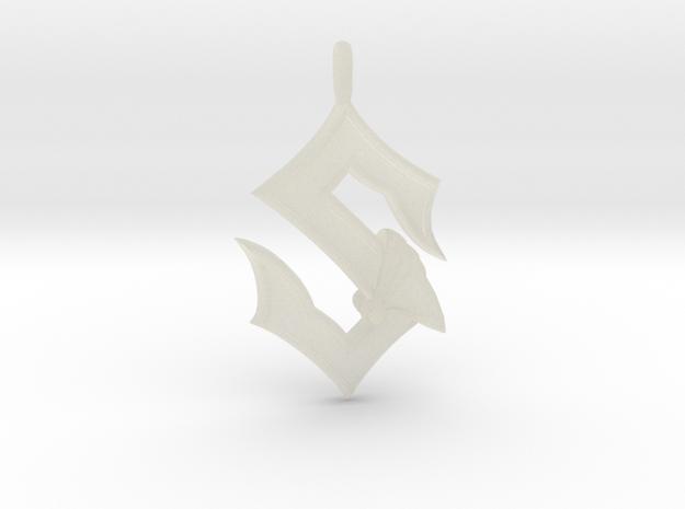 Sabaton Pendant 3d printed