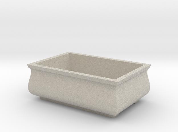 Bonzai Pot in Natural Sandstone
