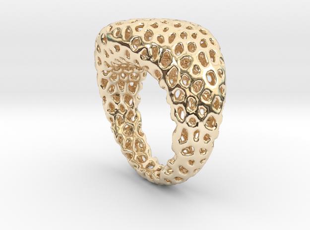 Swing ring T20 in 14K Gold