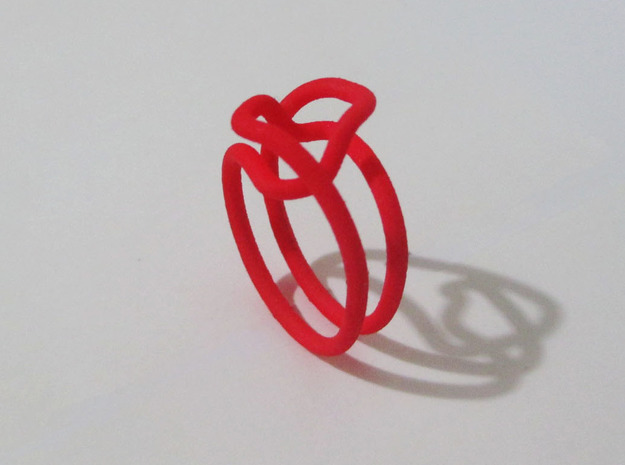 Loop 18 in Red Strong & Flexible Polished
