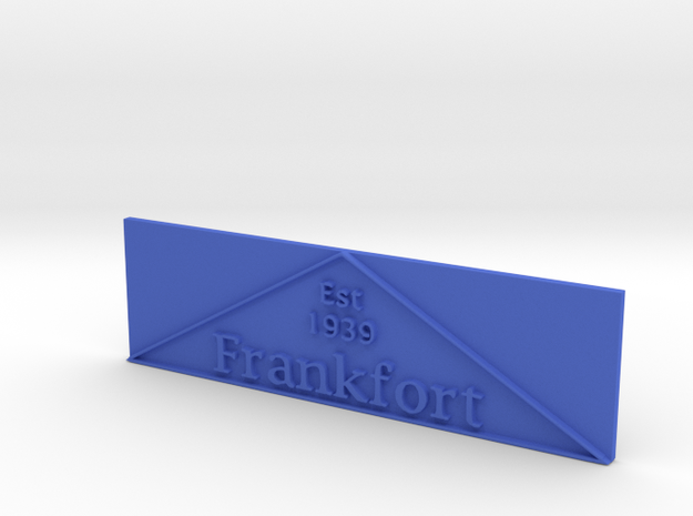 1:24 Frankfort Triangle 2 3d printed