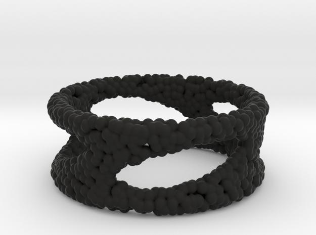 Frohr Design Bracelet Sphere in Black Natural Versatile Plastic