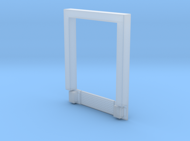 8x10 Roll Up Door; Open w/Leveler - Surface in Frosted Ultra Detail