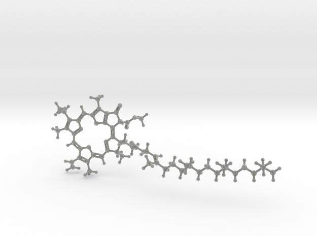 Chlorophyll A in Metallic Plastic