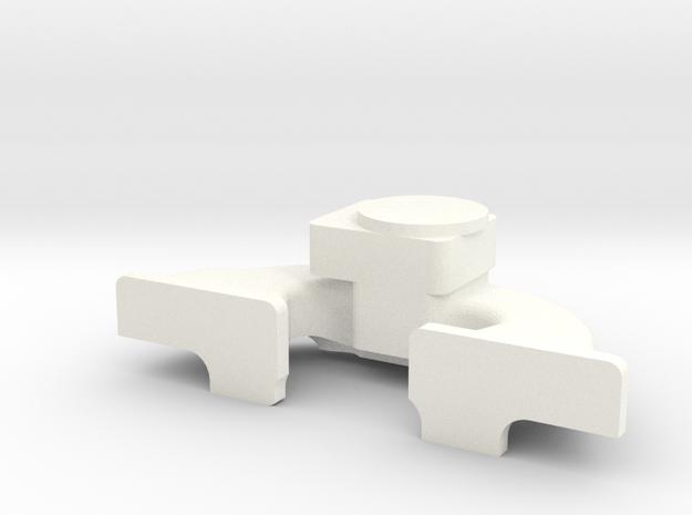 Straight Six 1-10 Intake Manifold in White Processed Versatile Plastic