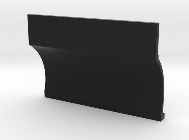 Straight Six 1-10 Right Block Side in Black Natural Versatile Plastic