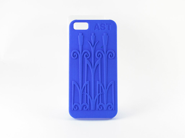 iPhone 6 Case in Blue Processed Versatile Plastic