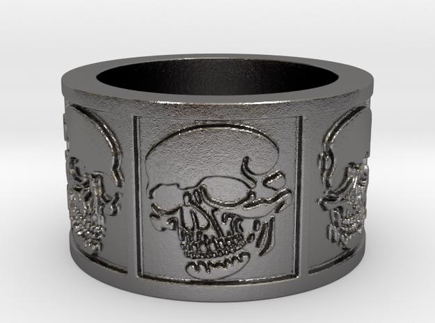 Skulls Ring Size 8