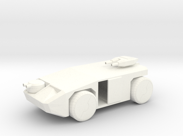 Waylandtransport V1 Fixed in White Strong & Flexible Polished