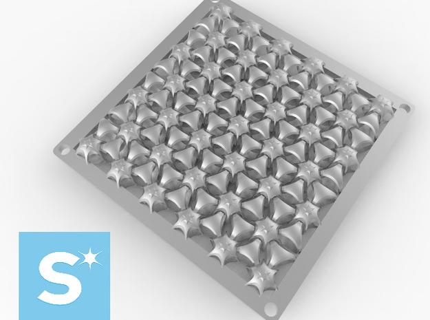 Alumide Panel 3d printed