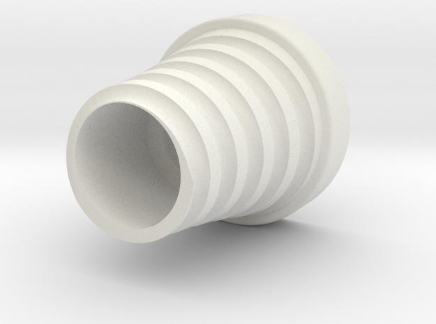 Hook Round Letter Inside in White Strong & Flexible