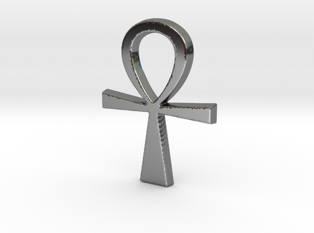 Ankh Pendant in Premium Silver