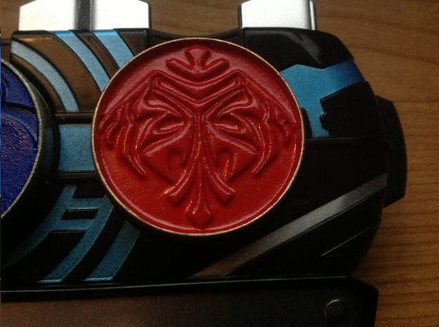 Kamen Rider OOO Poseidon Medal 3 - Ookamiuo in White Strong & Flexible