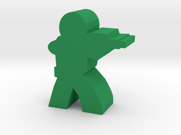 Soldier Meeple, with Rifle