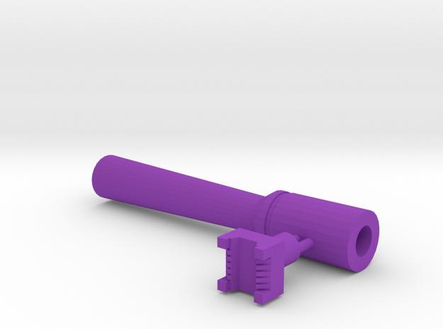 Leather stamp 5 + tool, Basketweave square pattern in Purple Processed Versatile Plastic