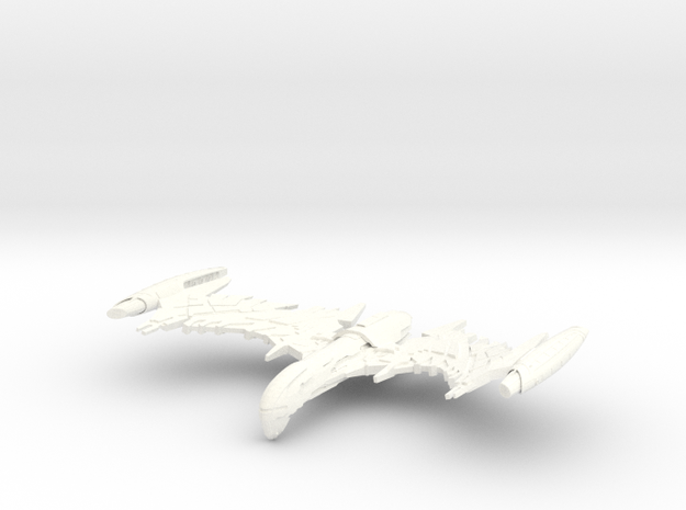 """Valbird Class WarBird   3"""" in White Strong & Flexible Polished"""