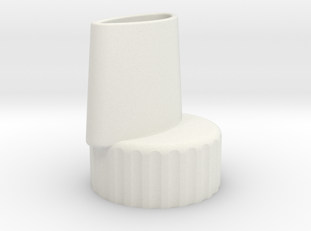 Bottle Adapter in White Strong & Flexible