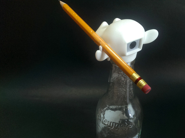 Pencil Sharpener Monkey (Case) 3d printed