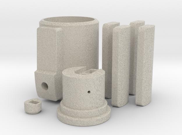 Yod lightsaber sound and light Parts 1/2 in Natural Sandstone