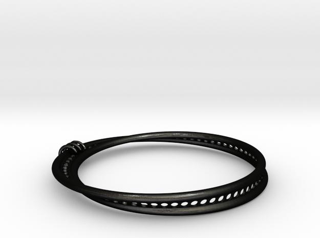 Möbius Snake Bracelet (Small) 3d printed