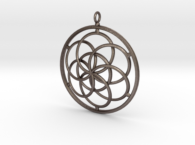 Seed Of Lifer in Stainless Steel