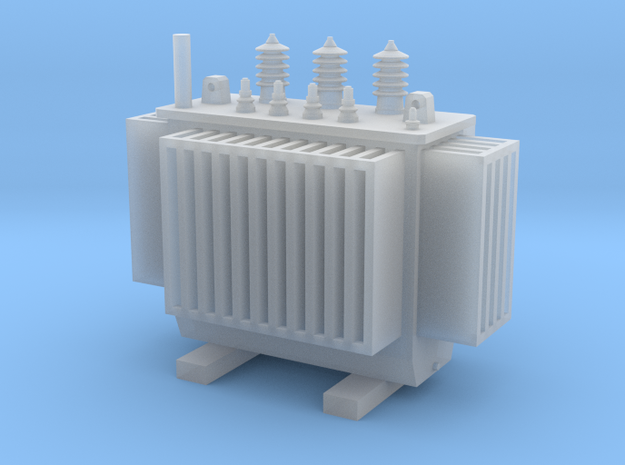 Electric Transformer  TT Scale 1:120 in Smooth Fine Detail Plastic