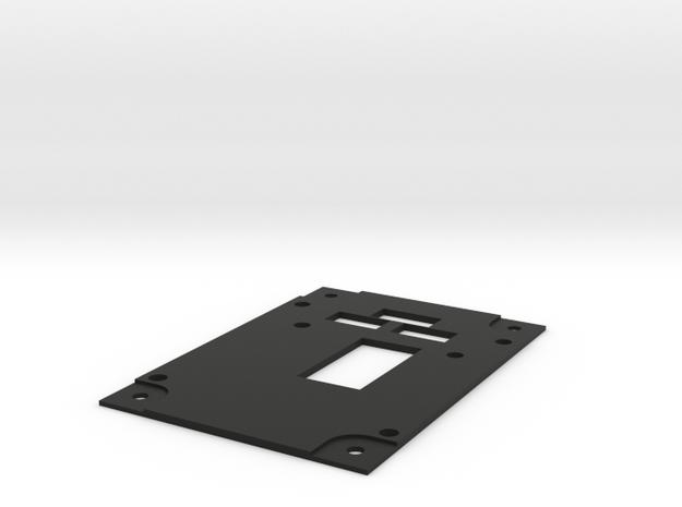 F22 Landing Gear Panel in Black Natural Versatile Plastic