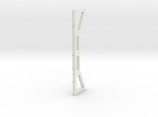 Girder Column in White Natural Versatile Plastic