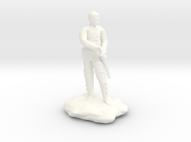 Human  Ranger in White Strong & Flexible Polished