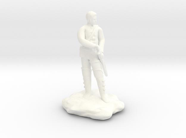 Human  Ranger in White Processed Versatile Plastic