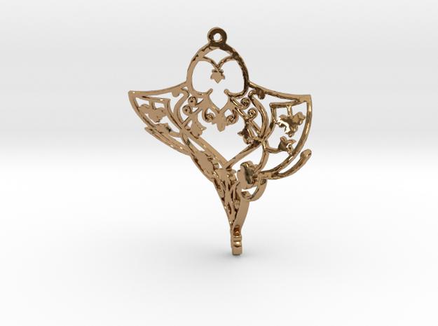 Twistflowr in Polished Brass
