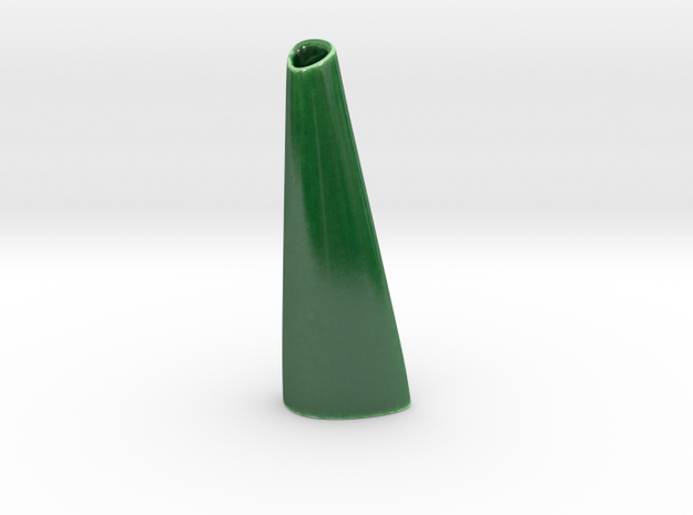 Organic Vase 3.0 (Small) - Ceramic 3d printed