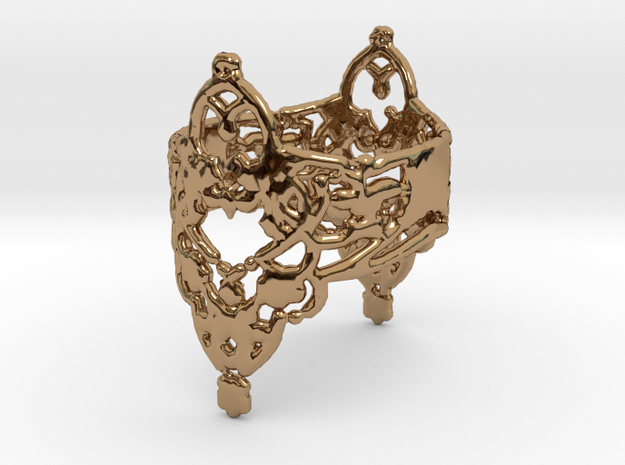 Ringflower in Polished Brass