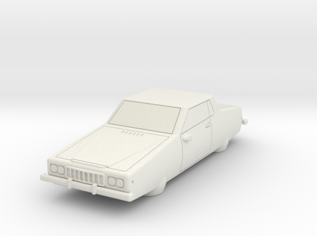 AC13 GT Air Car (28mm) 3d printed