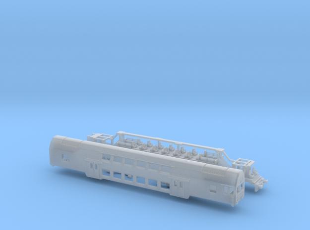 DR Doppelstock Steuerwagen 1:220 3d printed