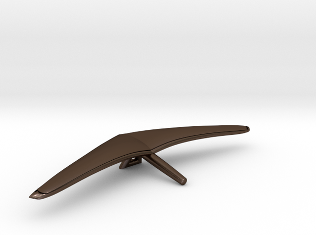 "Hang Glider ""Project Niki"" in Polished Bronze Steel"