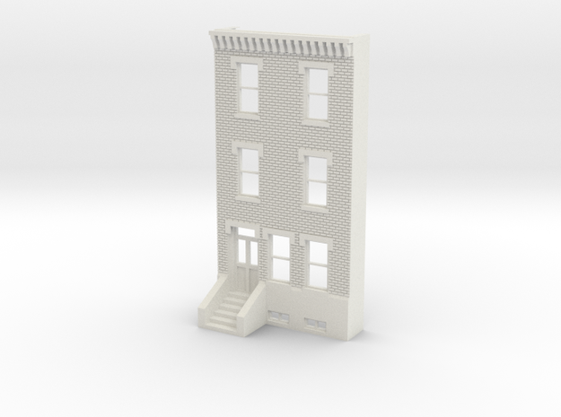 HO SCALE ROW HOME FRONT 3S
