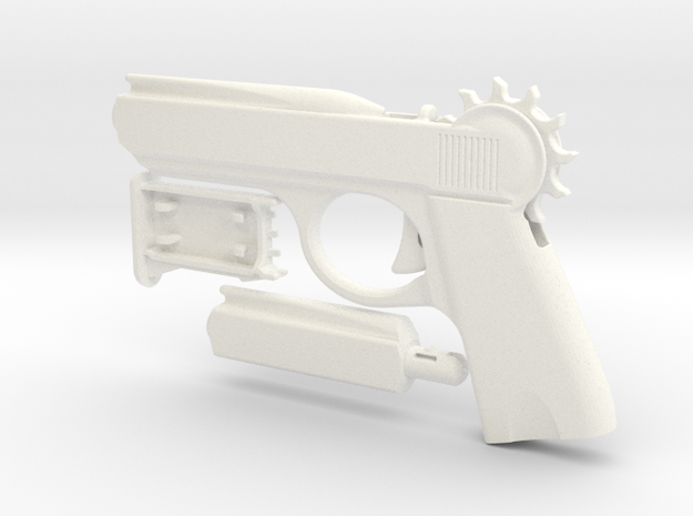 """The Loom Launcher """"Spy"""" in White Strong & Flexible Polished"""