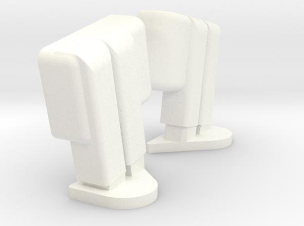 Superduty Mirrors 1 Piece in White Processed Versatile Plastic